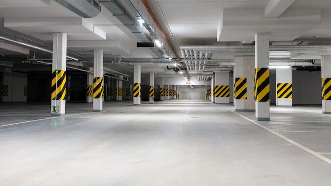 Underground Parking Cleaning Royal Wash