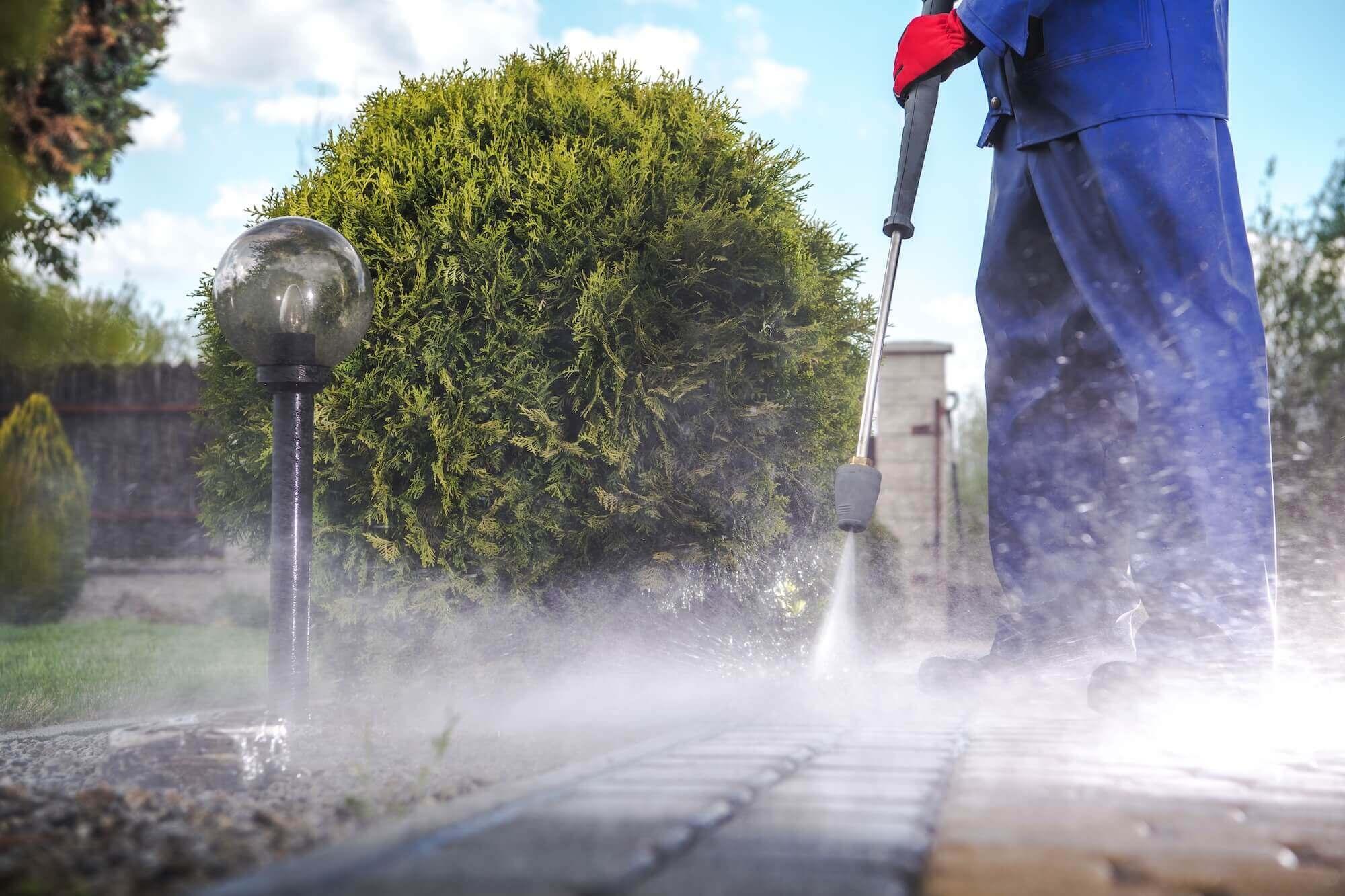 driveway pressure wash Royal Wash